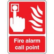 Fire Safety Sign - Fire Alarm Point 044